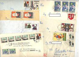 Lot 7 Lettre Cachet  à Voir - Tchécoslovaquie