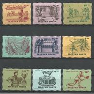 TP DE HONGRIE  N°  1734/42  NEUFS SANS CHARNIRE. - Hongrie