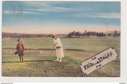 88 Vittel - Cpa / Le Jeu De Golf. - Vittel Contrexeville