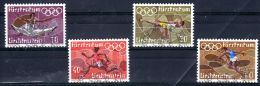 1972; Jeux Olympiques à Munich, YT 499 - 502; Oblitéré, Los 49584 - Ete 1972: Munich