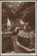 Up The Tanks, Full Of Rain, Aden, C.1930 - Benghiat RP Postcard - Yemen