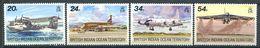 214 OCEAN INDIEN 1992 - Yvert 123/26 - Avion - Neuf ** (MNH) Sans Trace De Charniere - Territoire Britannique De L'Océan Indien