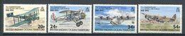 214 OCEAN INDIEN 1993 - Yvert 135/38 - Avion - Neuf ** (MNH) Sans Trace De Charniere - Territoire Britannique De L'Océan Indien