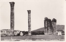 AN79 Temple De Jupiter, Olympic, Athenes - RPPC - Greece