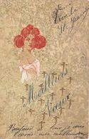 ¤¤  -  ILLUSTRATEUR     -  Carte VIENNOISE   -  Une Femme   -  Meilleurs Voeux    -  ¤¤ - 1900-1949