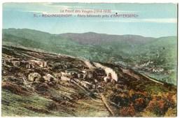 CPA 68 REICHACKERKOPF  Abris Bétonnés - Guerre 1914-18