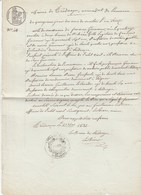 Côtes D'Armor - Trédarzec - Acte De Naissance De Jeanne Guimast (?) - 1832 - Historische Documenten
