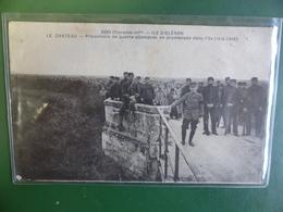OLERON LE CHATEAU PRISONNIERS ALLEMANDS EN PROMENADE  ECRITE BRAUN 3269 - Ile D'Oléron