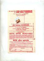 Publicite Collection Lutece Diffusion Avec Ajman  Au Dos Jeu Olympique Tokio - Timbres