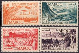 MAROC - Au Profit Des œuvres De Solidarité 1949 - Neufs