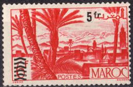 MAROC - Série Courante Surchargée 1950 - Neufs