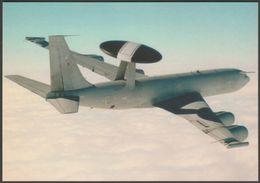 Boeing E-3D Sentry AWACS - World Air Sim Postcard - 1946-....: Modern Era