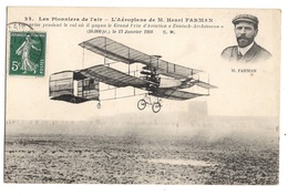 AVIATION - Les Pionniers De L'air, Aéroplane De M Henri Farman - ....-1914: Precursors