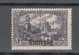 Danzig 1920,1V,Mi 13a,Freimarken Mit Aufdruck Danzig,postfrisch,geprüft(D2620) - Dantzig