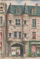 Carte Postale       BARRE  DAYEZ       REIMS   La Porte De La Tour Du Chapitre      2096 D - Reims