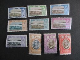 OUBANGUI CHARI SERIE Taxe De N°12/22* MH TB C.60e - Unused Stamps