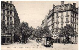 Rhône -  LYON - La Place Vendôme Et Le Cours Gambetta - Tramway - Lyon