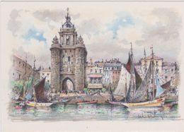 Carte Postale       BARRE  DAYEZ       LA ROCHELLE   La Tour De L'horloge Et Le Port      2020  A - La Rochelle