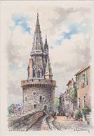 Carte Postale       BARRE  DAYEZ       LA ROCHELLE   La Tour De La Lanterne      2020  D - La Rochelle