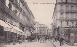 83 / HYERES /  / EDIT DAMES DE FRANCE 9 / AVENUE GAMBETTA / LA MAISON DOREE - Hyeres