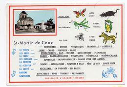 17  SAINT MARTIN DE COUX  -  CPM 1950 / 60 - France