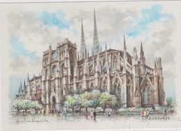 Carte Postale       BARRE  DAYEZ       BORDEAUX     La Cathedrale     2022  H - Bordeaux
