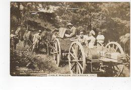 CAMP PETAWAWA, Ontario, Canada, Cable Wagon & Soldiers, Pre-WW I, 1912 Petawawa Camp Field PO Cancel, Renfrew County - Autres