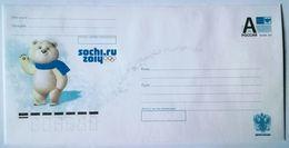 RUSSIA 2012. Sochi 2014. Mascots. Polar Bear. Prestamped Envelope. Mint - 1992-.... Federazione