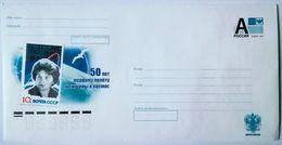 RUSSIA 2011. 50th Anniversary Of The First Female In Space. Tereshkova. Prestamped Envelope. Mint - 1992-.... Federazione