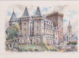 Carte Postale       BARRE  DAYEZ          PAU    Le Chateau D'HENRI  IV     2063  A - Pau