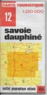 IGN 1/250000 Savoie Dauphiné - Roadmaps