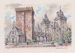 Carte Postale       BARRE  DAYEZ          PAU     L' Entrée Du  Chateau D'HENRI  IV     2063 B - Pau