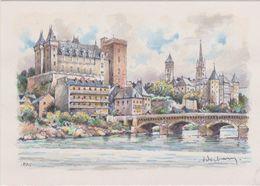 Carte Postale       BARRE  DAYEZ          PAU     Panorama Et Le Gave      2063 C - Pau