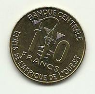 2009 - West Africa 10 Francs, - Monete