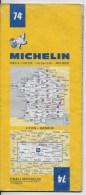 MICHELIN 1/200000  Lyon Geneve - Cartes Routières