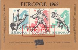 BELGIEN-Block-postfrisch-Europamarken - Variétés Et Curiosités