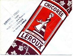 """GIRONDE: """" CHICOREE LEROUX Au Verso D'une LSC De Bordeaux De 1967 TB - 1961-...."""