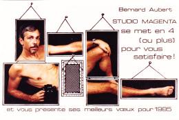 Photo - Homme Nu Allongé - Voeux 1985 Studio MAGENTA, Bernard AUBERT - Photographe à Nouméa (Nouvelle Calédonie) - Other