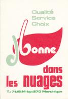 """Dépliant Publicitaire Illustré & Plan """" J. Bonne, Villa """"dans Les Nuages"""" Anthuriums - Fort De France - Martinique - B. Plantes Fleuries & Fleurs"""