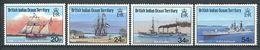 214 OCEAN INDIEN 1991 - Yvert 114/17 - Bateau - Neuf ** (MNH) Sans Trace De Charniere - Territoire Britannique De L'Océan Indien