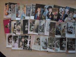 LOT DE 95 CP D'ENFANTS - GARCONS - FILLES - COSTUMES - Portraits
