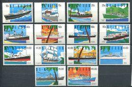214 SAINT CHRISTOPHE (St Kitts) 1990 - Yvert 713/26 - Bateau - Neuf ** (MNH) Sans Trace De Charniere - St.Kitts-et-Nevis ( 1983-...)