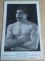 BOXING - BOXEUR - BOXE - BOKSEN -PAULINO UZCUDUM (11cm X 18cm) - Boxing