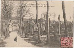 SAINT-OMER-EN-CHAUSSEE  La Route Nationale Et Entrée De Saint-Omer Par Marseille - France