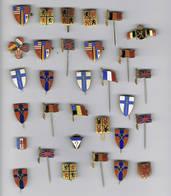 30 Pins De Liberation Bevrijding - 1939-45