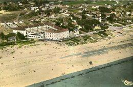 BARNEVILLE CARTERET Sur Mer - La Plage Et Les Villas Vue Du Dessus - Barneville