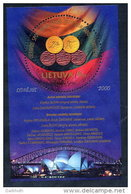 LITHUANIA 2000 Olympic Medals Block MNH / **.  Michel Block 21 - Lithuania