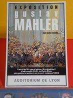 Carte Postale > Événements > Exposition > Gustav Mahler, Auditorium De Lyon 1994 (69) - Exhibitions