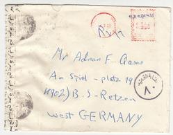 Egypt, Meter Stamp Censored Letter Cover Travelled 1971 B180122 - Cartas