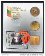 LITHUANIA 2003 European Basketball Block MNH / **.  Michel Block 29 - Lithuania